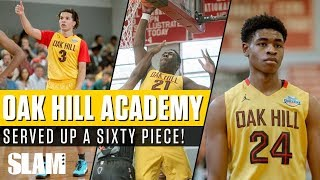 Oak Hill and Cole Anthony serve up a SIXTY PIECE! | SLAM Highlights