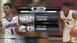 Full game: Waterford at East Lyme boys' basketball