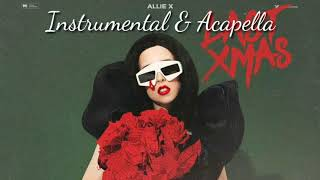 Allie X   Last Xmas (Filtred Instrumental & Acapella) DL