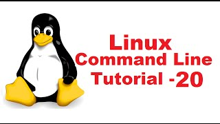 Linux Command Line Tutorial For Beginners 20 - Introduction to Bash Scripting