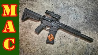 BCM 300 Blackout SBR Coyote Gun