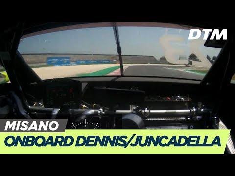 DTM Misano 2019 - Dennis/Juncadella (Aston Martin Vantage DTM) - RE-LIVE Onboard (Race 2)