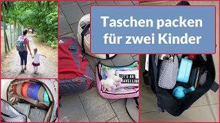 5 Tage, 4 Taschen - Packt mit mir | Familienausflug | gabelschereblog
