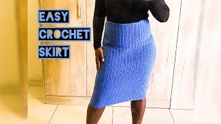 Easy Crochet Skirt || Crochet Skirt Pattern