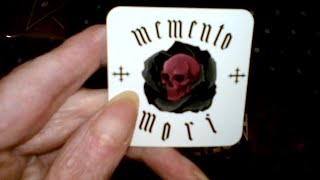 Box Of Goth Memento Mori Unboxing March 2019