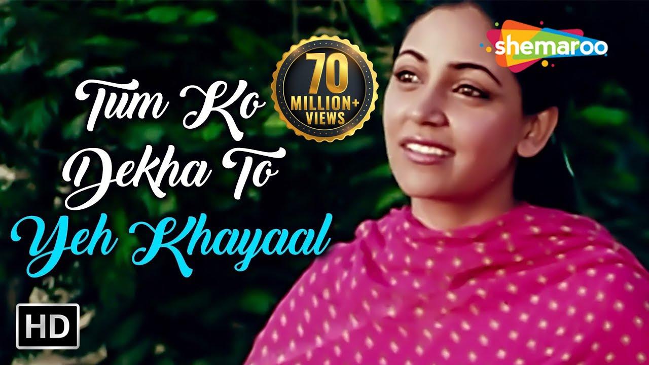 Tumko Dekha To Yeh Khayal Aaya Lyrics Translation