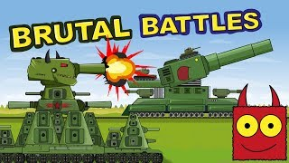 """""""Iron Monsters Battle"""" Cartoons about tanks"""