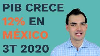 PIB Crece en México y EEUU Tercer Trimestre 2020