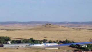 preview picture of video 'Poblete y Ciudad Real vistas desde un cerro'