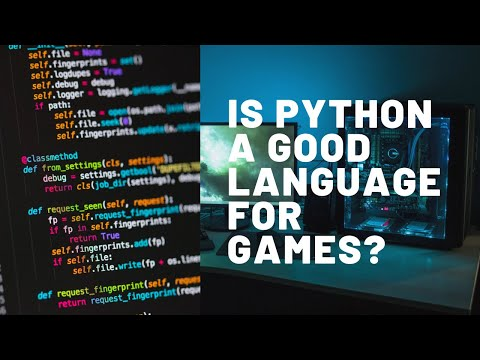 Is Python a good programming language for game development?