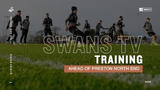 Training ahead of Preston