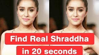 Find Real Shraddha Kapoor in 20 seconds - Baaghi Challenge