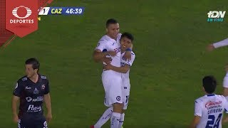 Gol de J. Domínguez   Alebrijes 1 - 1 Cruz Azul   Copa MX-J3-Cl19    Televisa Deportes