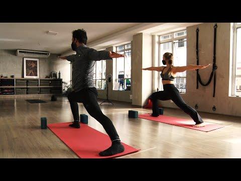 Prática do yoga reflete na melhora do corpo e da mente