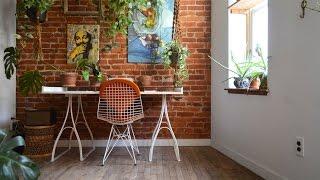Tour Mini Apartment In Boho Chic Style, Philadelphia