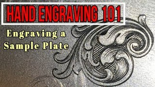 How is metal engraving done