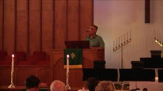 """Sermon: """"Such as We Have""""; Scripture Reading: Acts 3:1-10; Rev. Craig J. Wright, Sunday Au"""