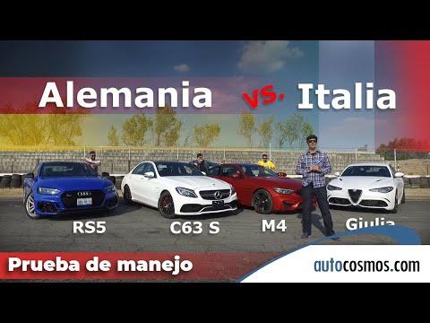 Alfa Romeo Giulia Quadrifoglio Vs M4, RS5 y AMG C63 S