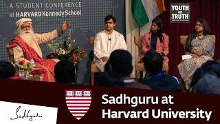 Sadhguru at Harvard University – Youth and Truth, Feb 17, 2019