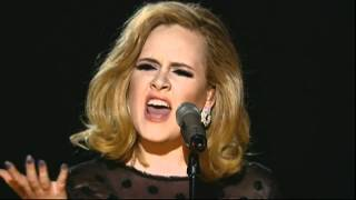 Grammys: Adele's first performance since her throat op. WOW!