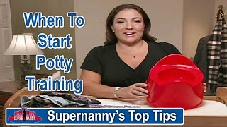 How to Know When to Start Potty Training | Supernanny