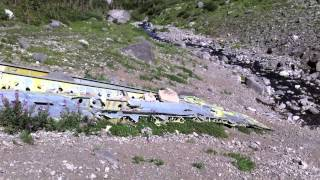 1946 Mount Ptolemy Dakota Plane Crash Crowsnest Pass