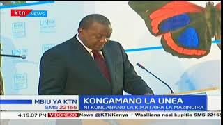 Rais Uhuru Kenyatta ahudhuria kongamano la UNEA