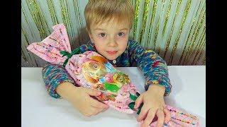 Сюрпризы Щенячий патруль Шоколадные яйца с игрушками Подарок от Скай Огромная конфета Surprise Eggs