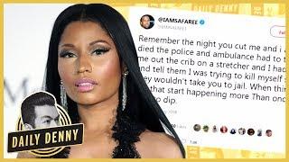 Nicki Minaj And Ex Safaree Samuels Go At It On Twitter   #DailyDenny
