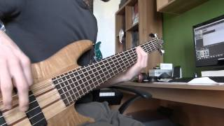 Dream Theater - About To Crash (Reprise) - Bass Cover