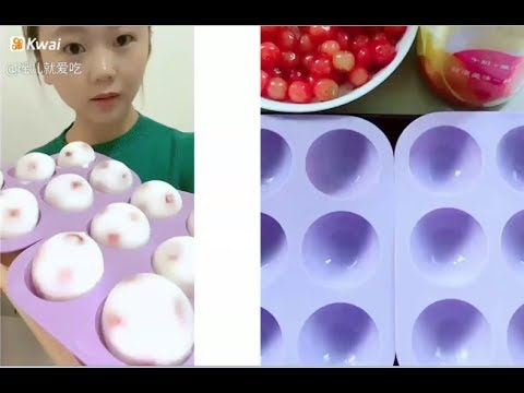 Sütlü Buz Yemek  - Ve Yapım Videosu #4 ASMR