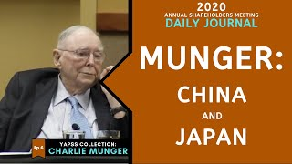 Charlie Munger on China and Japan. | [C:C.M Ep.6]