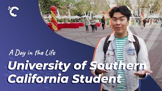 youtube video thumbnail - A Day In The Life: USC Student