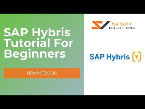 SAP Hybris Tutorial For Beginners   Hybris Online Training Demo ...