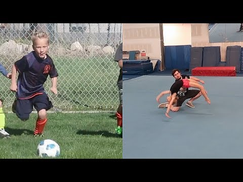 Practice makes perfect! Dance and Soccer!