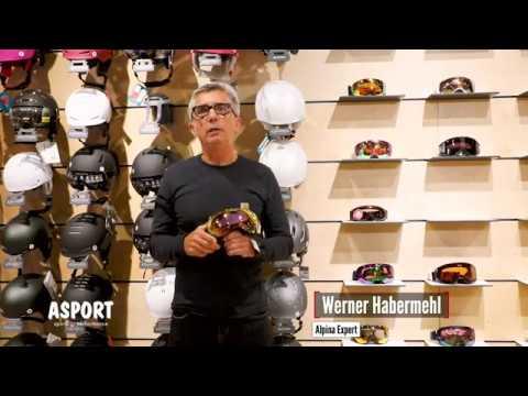 ASPORT - Werner Habermehl von Alpina über Skibrillen