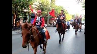 ขี่ม้าเชิญชวนเข้าร่วมงาน 17 เมษายน วันคล้ายวันพระราชสมภพพระบาทสมเด็จพระเจ้าตากสินมหาราช 01