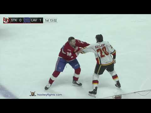 Yannick Veilleux vs. Alex Gallant