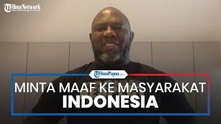 Laga Uji Coba Persipura vs Persita Ricuh, Jacksen F Tiago Minta Maaf ke Masyarakat Indonesia