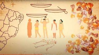 Uma Viagem pela História de Santos | EP: 2  Arqueologia Animada
