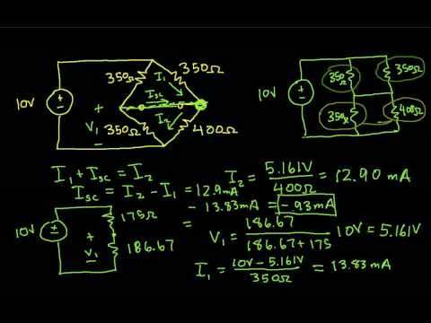 Norton's Theorem Example-Bridge Network Part 1
