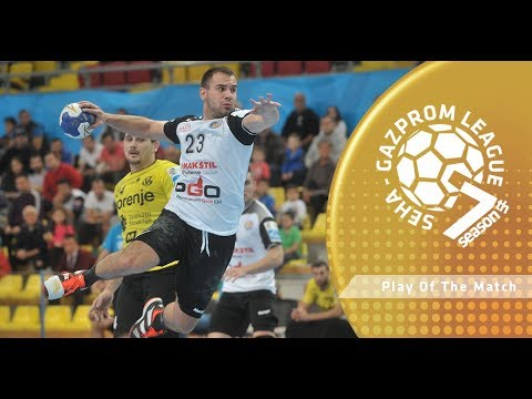 Play of the match: Bozo Andelic (Metalurg vs Tatran Presov)