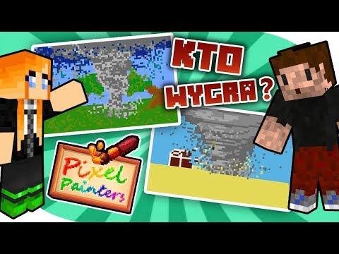 WALCZĘ Z ZIO O ZWYCIĘSTWO! | Minecraft Pixel Painters (feat. Zio)