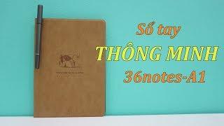 Sổ Tay Thông Minh Chuyển Chữ Viết Từ Giấy Lên điện Thoại 36notes - A1
