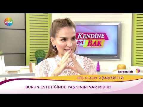 Can Ercan - Burun Estetiği - Ebru Akel Show Tv Kendine İyi Bak