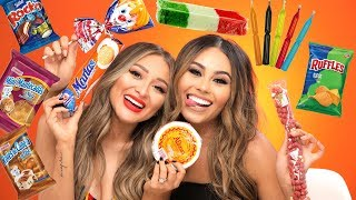TRYING MEXICAN SNACKS PART 2 | Roxette Arisa