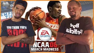 MARCH MADNESS BUZZER BEATER!! - NCAA March Madness 2008 Gameplay   #ThrowbackThursday