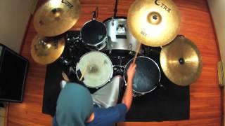 """Paeton Gillette - Charlie Siren - """"Cravenness"""" Drum Playthrough"""