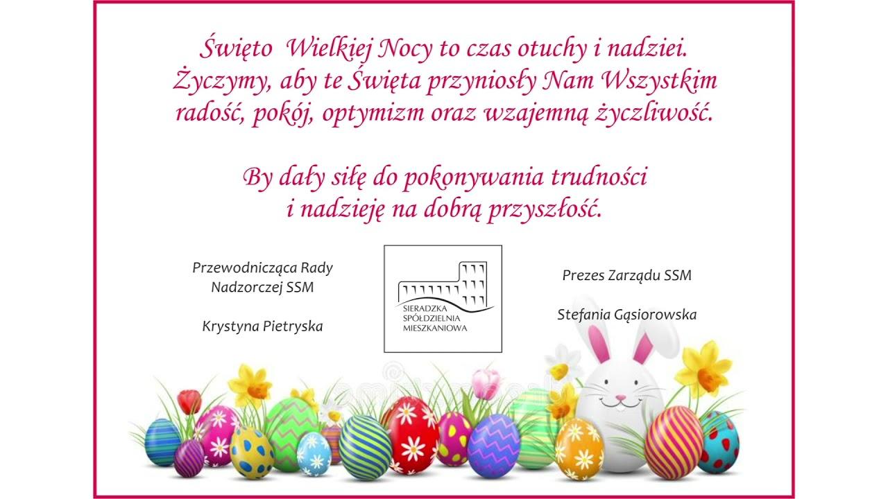 Wielkanocne życzenia SSM