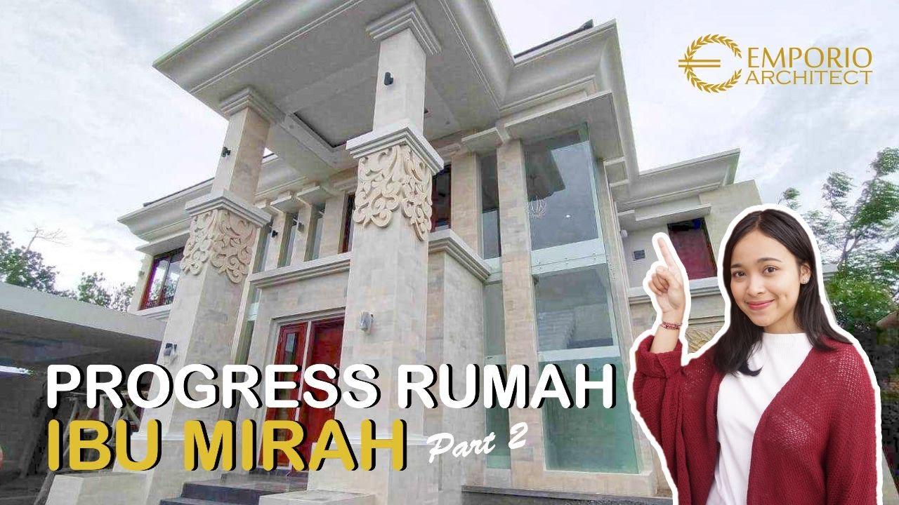 Video Construction Progress of Mrs. Mirah Private House Design - Denpasar, Bali
